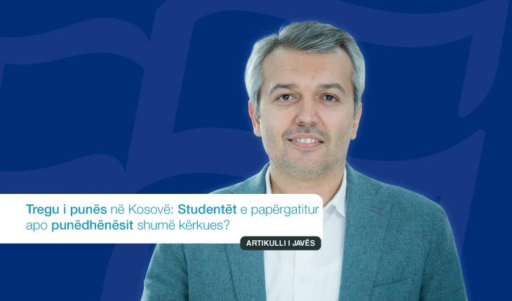 Tregu i punës në Kosovë: Studentët e papërgatitur apo punëdhënësit shumë kërkues?