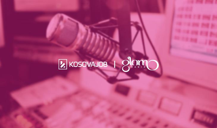 Konkurset e punës nga KosovaJob, tani edhe në Glam Radio