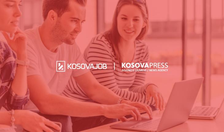 """KosovaJob arrinë bashkëpunim me Agjencinë e Lajmeve """"KosovaPress"""""""